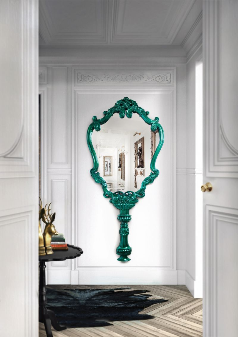 10 Unique Oversized Mirrors for Master Bedrooms (10)