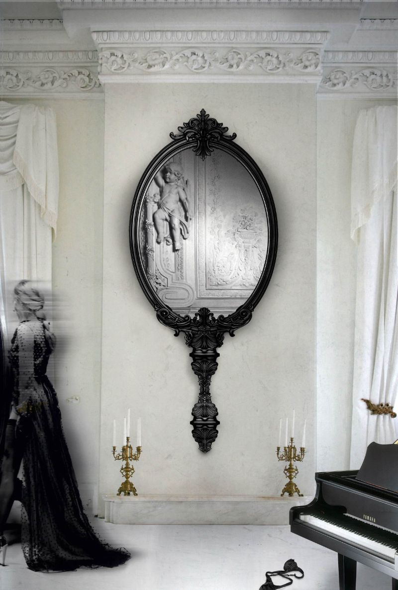 oversized mirror 10 Unique Oversized Mirrors for Master Bedrooms 10 Unique Oversized Mirrors for Master Bedrooms 5
