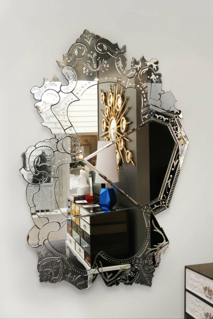The Most Expensive Mirror In the World expensive mirrors Venice, One of The Most Expensive Mirrors In the World Boca do Lobo Venice 62186
