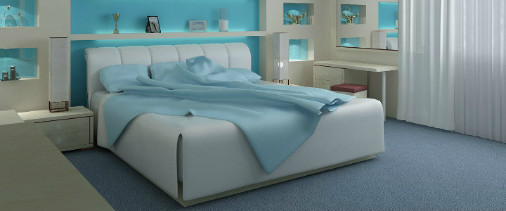 Light-Blue-Bedrom-Decorating-Ideas Bold and Colorful Bedrooms Bold and Colorful Bedrooms Light Blue Bedrom Decorating Ideas 91