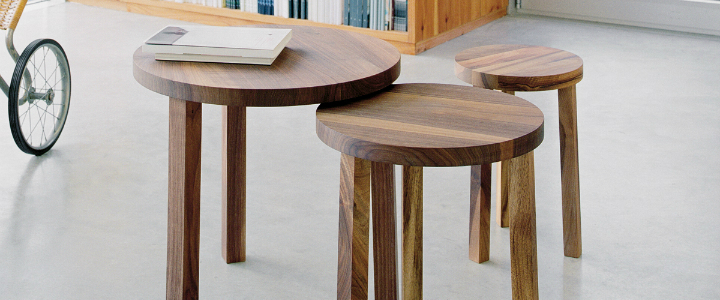 Beautiful Nesting Tables: Set of 3 Beautiful Nesting Tables: Set of 3 f4