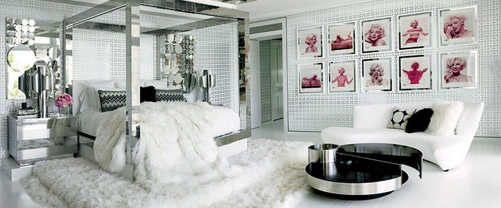 Trendy decor ideas with mirrored nightstands Trendy decor ideas with mirrored nightstands featured2