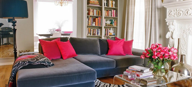 Valentine's day Preparing your living room set for Valentine's day 2015 Decorating Ideas with Pink Color 10