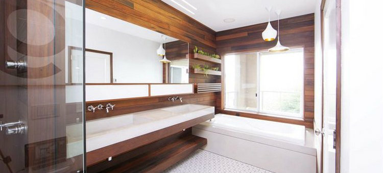 5 Incredible bathrooms designed with wood 5 Incredible bathrooms designed with wood ft2