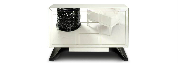 Top 50 design sideboards ideas mirrored furniture Mirrored furniture: the best sideboards metropolitan modern sideboard mirrored sideboard 02