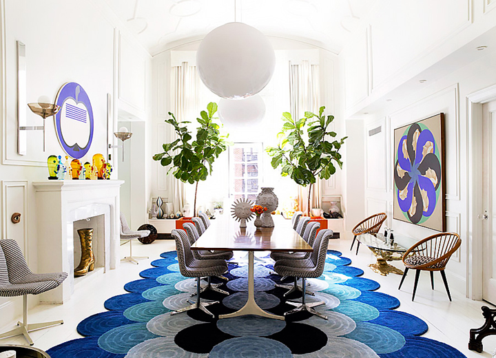 dining room How to beautify your dining room with the best table trends Dining Room Inspiration and ideas 04
