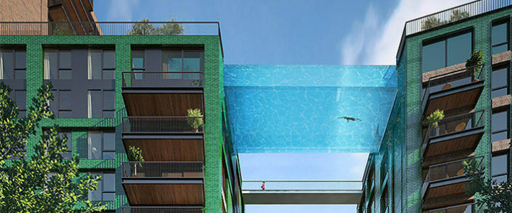 HAL ARCHITECTS SET A GLASS-BOTTOMED SKY POOL IN LONDON HAL ARCHITECTS HAL ARCHITECTS SET A GLASS-BOTTOMED SKY POOL IN LONDON Sky Pool 3