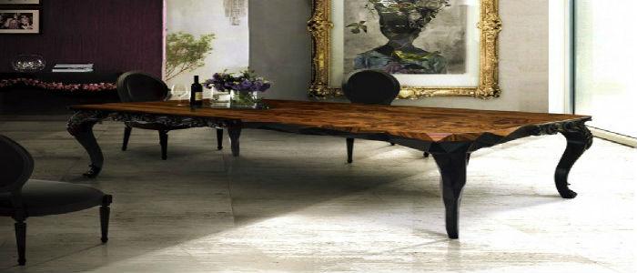 Luxury Dining Tables DINING ROOM 20 LUXURY DINING TABLES FOR THE MODERN DINING ROOM Luxury Dining Tables1