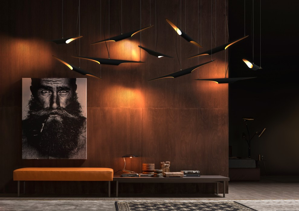 Coltrane Suspension Lamp by DelightFULL