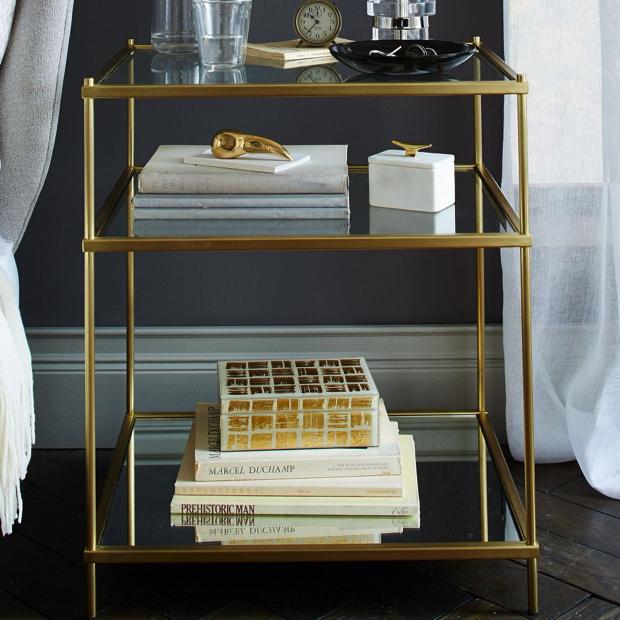 Modern-Brass-Bedside-Table