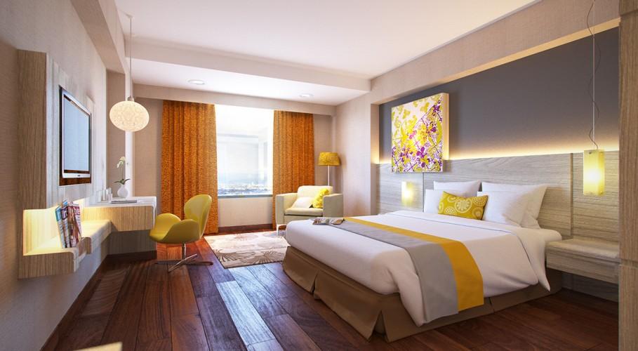 Bedroom designed by Andrea Mayadewi