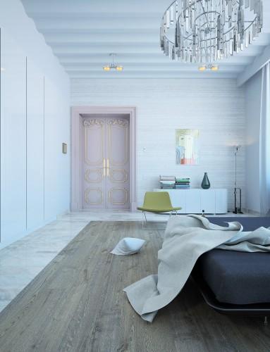 Minimalistic bedroom design