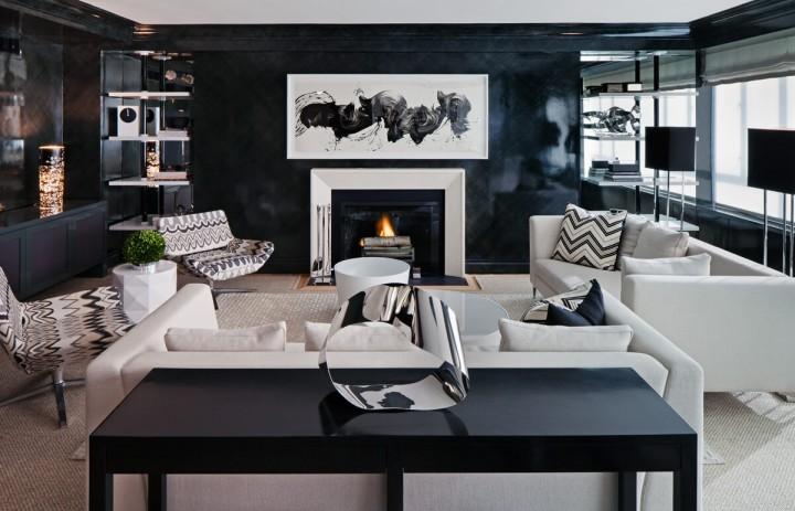 Black Living Room Ideas 15 modern living rooms 15 Black Inspirations for Modern Living Rooms Black Living Room Ideas 151 e1455192389176