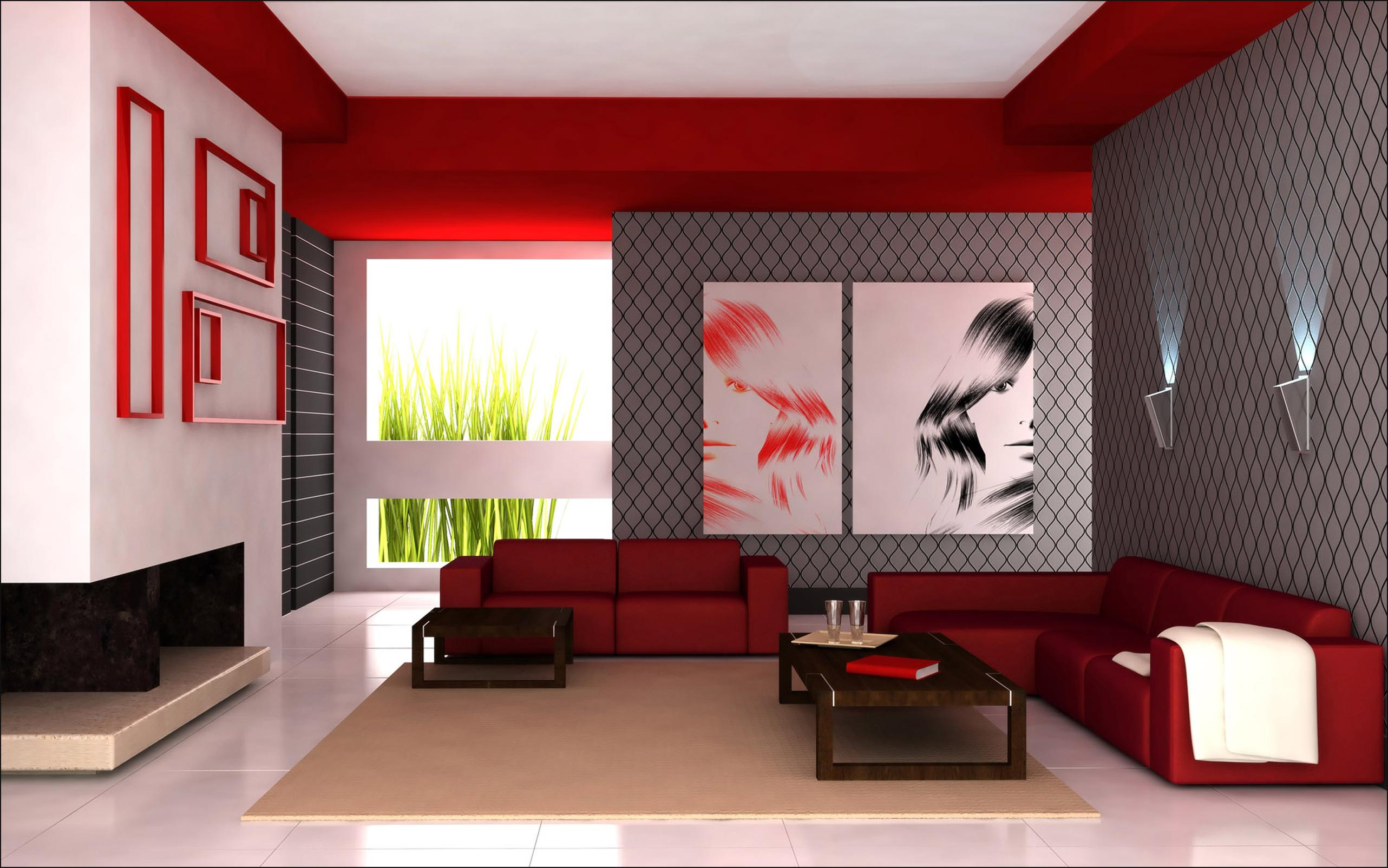 Classic Red Contemporary Design red accents The Best Ideas to Decorate with Red Accents Classic Red Contemporary Design