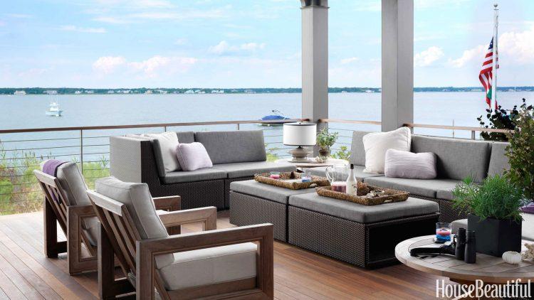 porch decor ideas Modern Porch How to Decorate your Modern Porch for Summer Time porch decor ideas e1466675028827