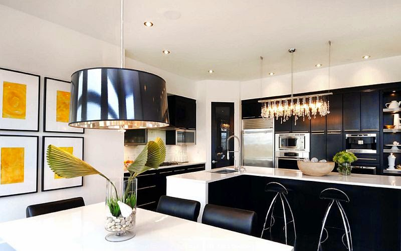 black and white kitchen Black and White Kitchen Ideas Black and White Kitchen Ideas black and white kitchen ideas 6