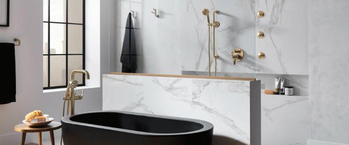 luxury bathroom The Best Modern Luxury Bathroom ft 13