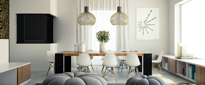modern dining room ideas Best Modern Dining Room Ideas For This Holiday Season ft