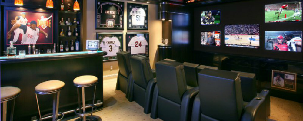 men room decor The Man Cave: 25 Amazing Designs and Pieces for Men Room decor 000 10