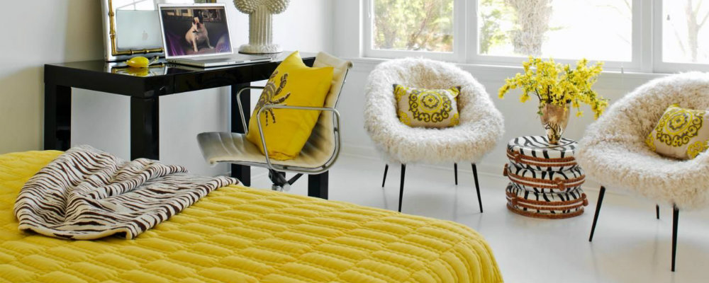 master bedroom design ideas Shades of sunshine: Yellow master bedroom design ideas 000 12