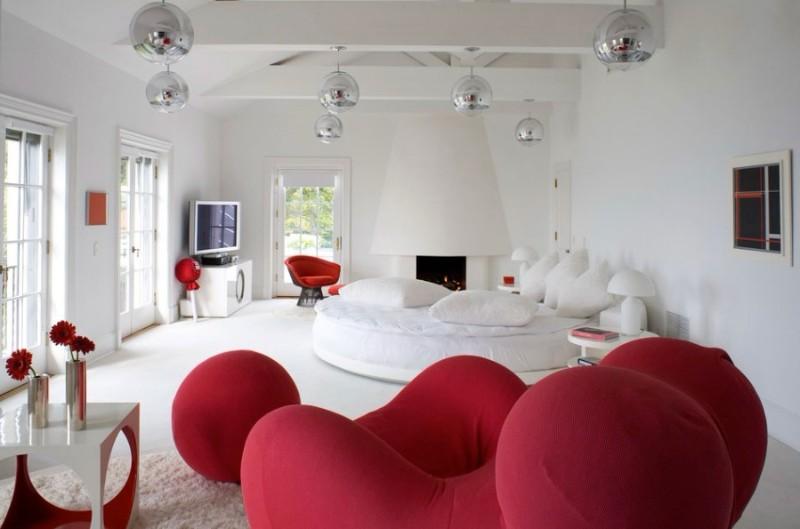 Decoration Ideas Decoration Ideas: 10 White Rooms with Pops of Color Decoration Ideas 10 White Rooms with Pops of Color 11