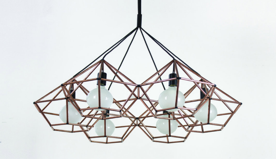 chandelier The Beautiful Rough Diamond Chandelier by Ben Tovim Design RoughDiamondChandelier PendantLight BenTovimDesign1 1