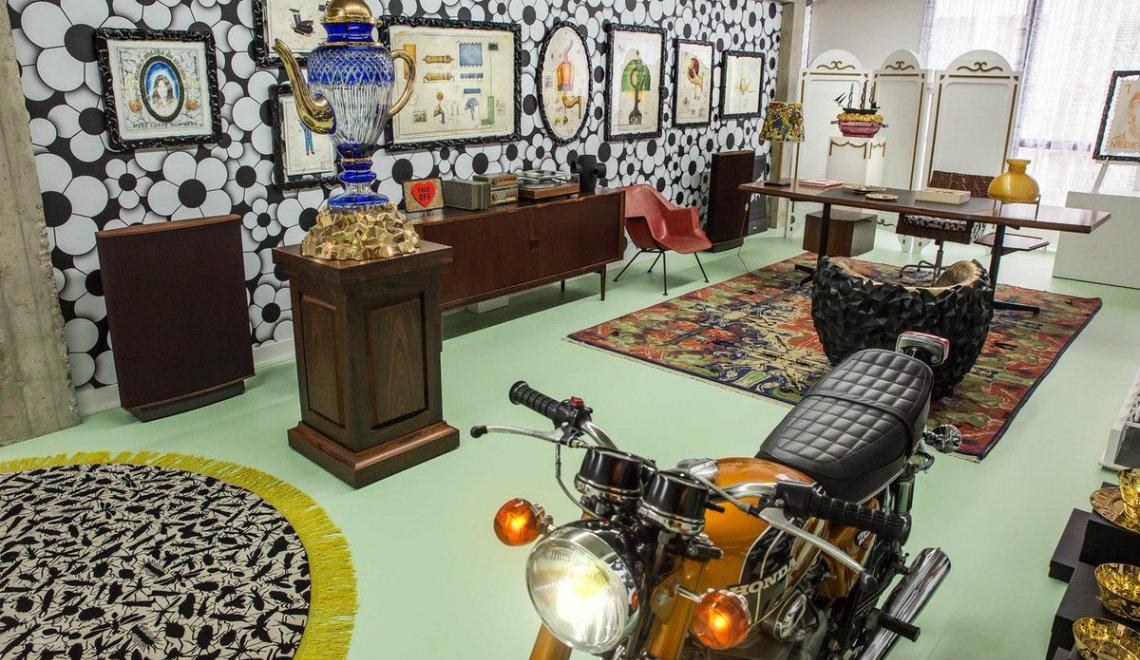 studio job Eclectic Home Decor Ideas: Inside Studio Job's Apartment featured 3