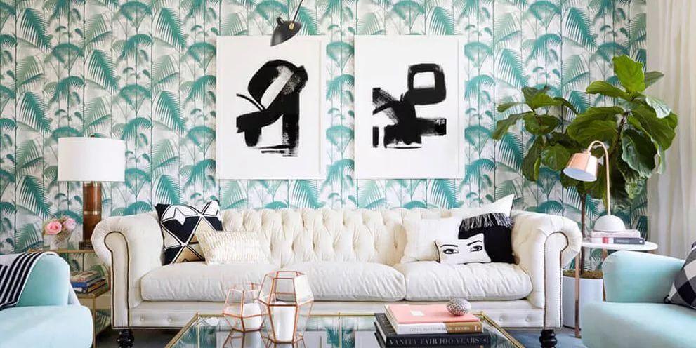 Modern Wallpaper Ideas For Your Living Room (3) wallpaper ideas Modern Wallpaper Ideas For Your Living Room Modern Wallpaper Ideas For Your Living Room 3