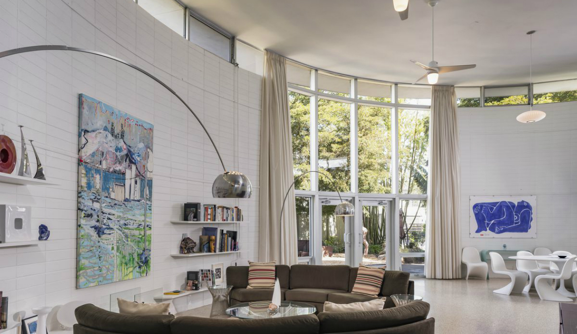Modern Home This Circular Modern Home in Florida is a Total Gem to Look Up For feature 5