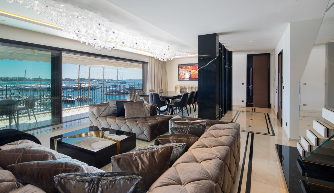 french apartment An Opulent French Apartment That Overlooks The Port Of Cannes An Opulent French Apartment That Overlooks The Port Of Cannes FT