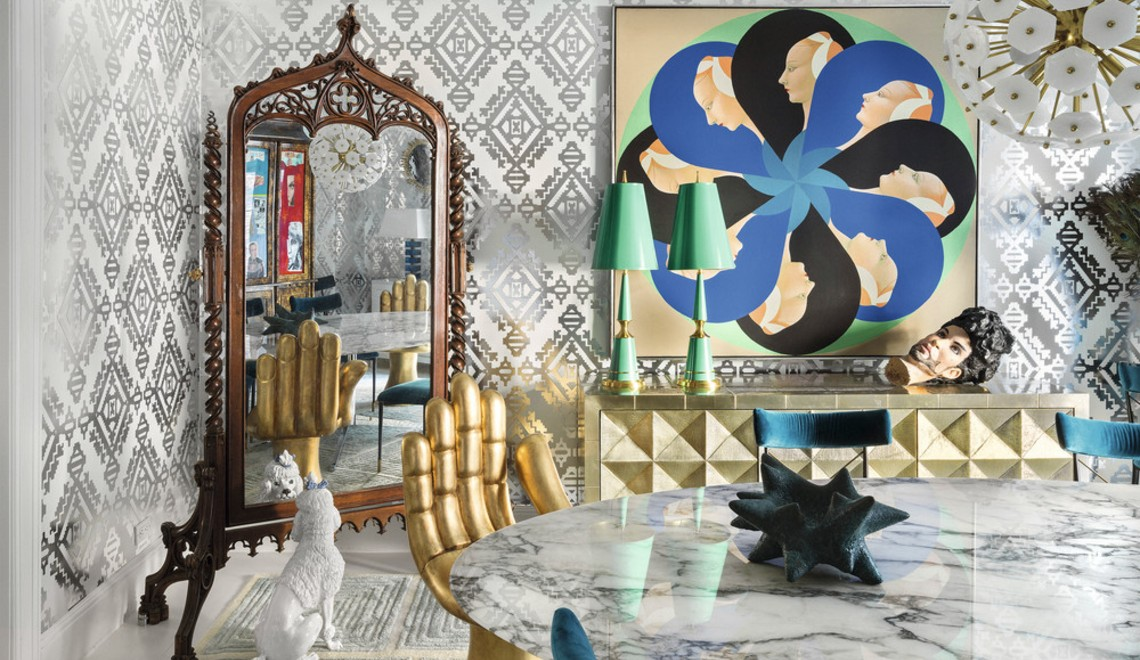 "A ""Modern American Glamour"" Home Design By Jonathan Adler"