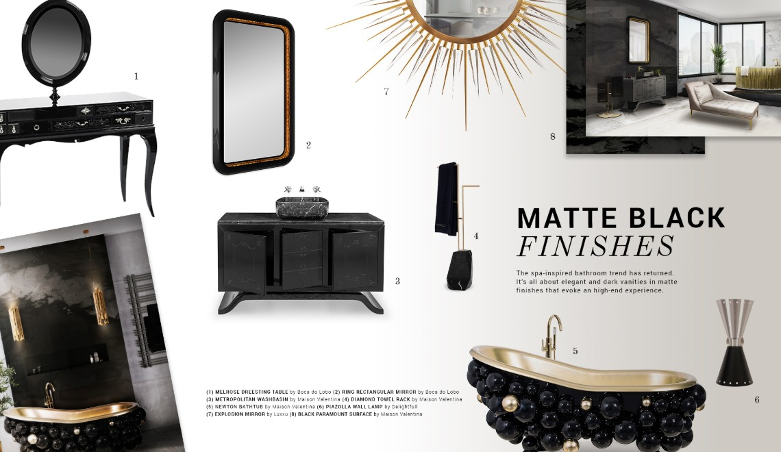 How To Use Matte Black In Your Luxury Home