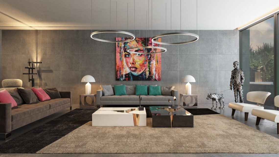 Luxury, Art and Character Are Key In This Design Project