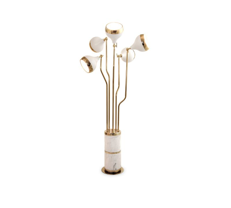 home design Home Design With A Fusion Of Classical & Modern Glam hanna floor lamp zoom