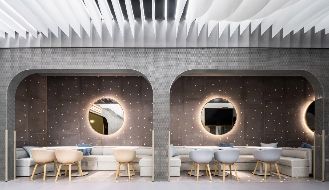 A Cafe Design In China That Has Kids Needs In Mind