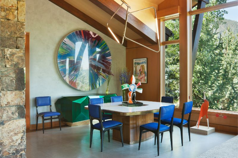 sara story Art Meets Design In This Private Residence By Sara Story Art Meets Design In This Private Residence By Sara Story 1