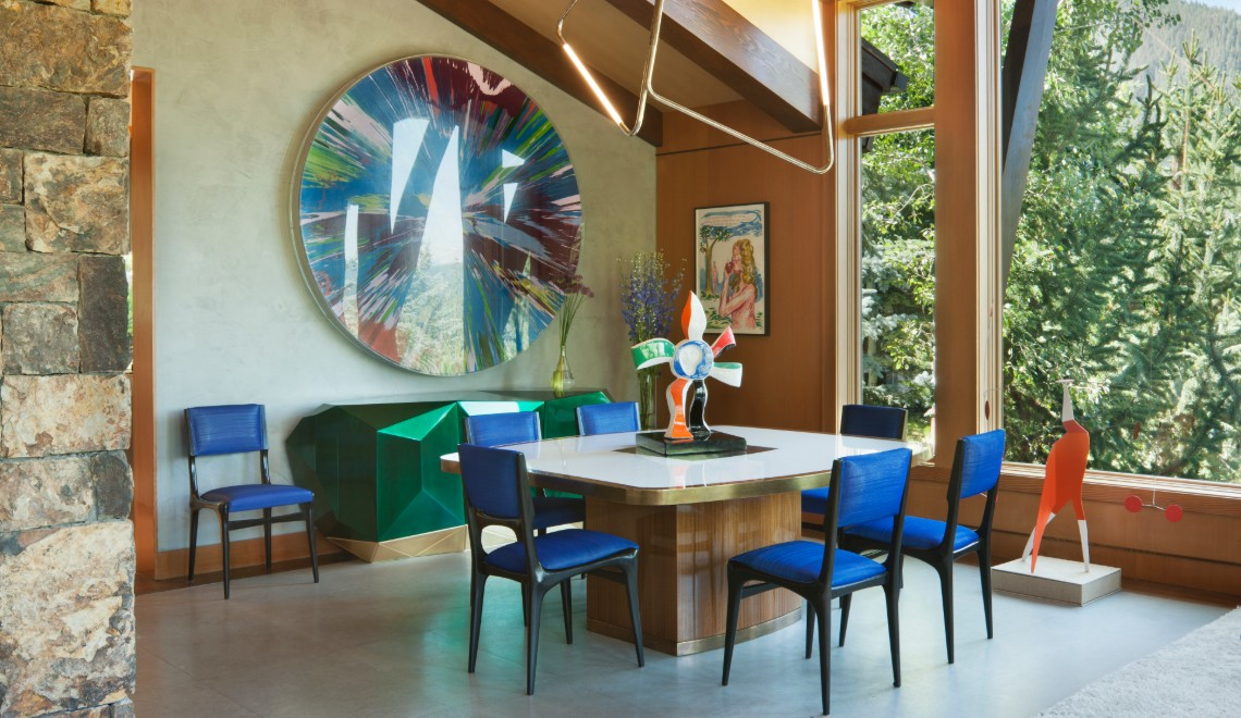 Art Meets Design In This Private Residence By Sara Story