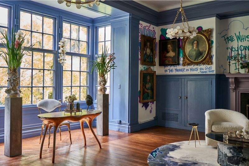 A Look Inside The Holiday House NYC 2019 Showhouse (11) holiday house nyc A Look Inside The Holiday House NYC 2019 Showhouse A Look Inside The Holiday House NYC 2019 Showhouse 11