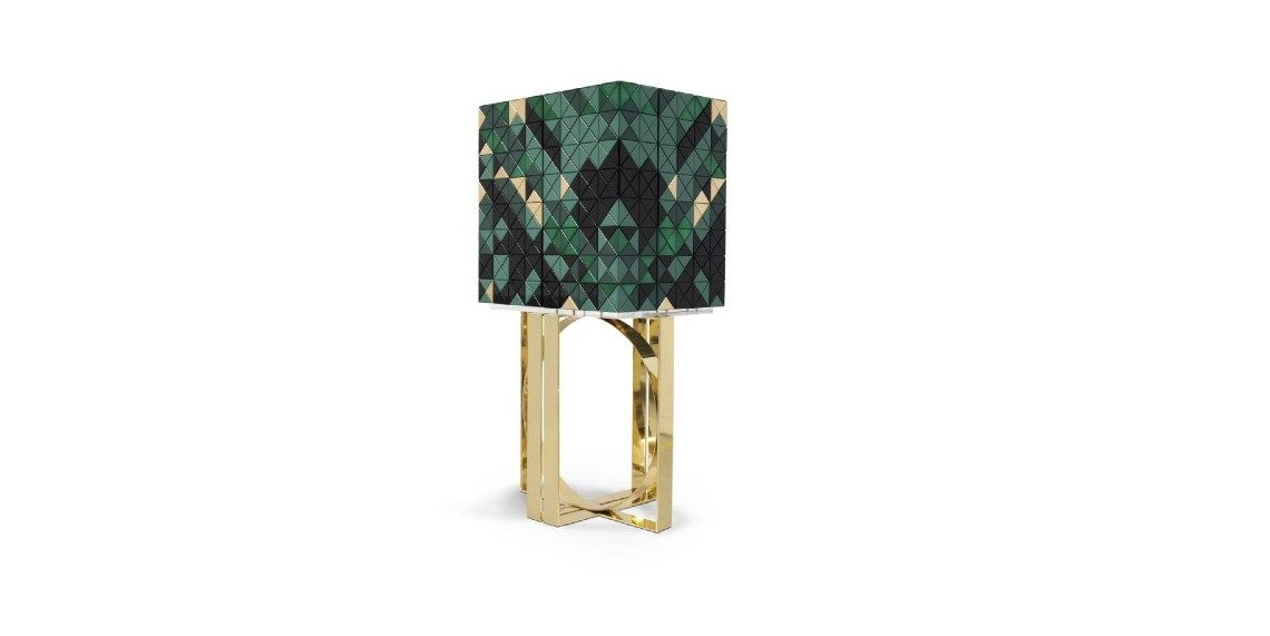 Enchanted Forrest Inspires The New Pixel Modern Cabinet