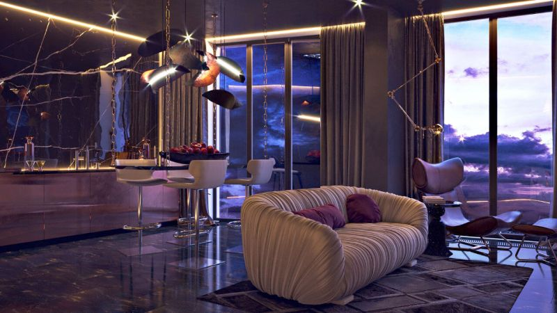 A Luxury Penthouse In Kiev By Lara German (12) luxury penthouse A Luxury Penthouse Turned Into A Feminine Retreat By Lara German A Luxury Penthouse In Kiev By Lara German 12