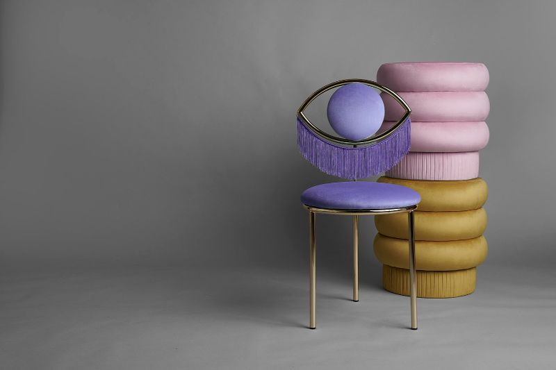 Masquespacio Brings Winking Dining Chair To Maison Et Objet 2020 (3) masquespacio A View For Sore Eyes – The New Masquespacio Dining Chair Masquespacio Brings Winking Dining Chair To Maison Et Objet 2020 3