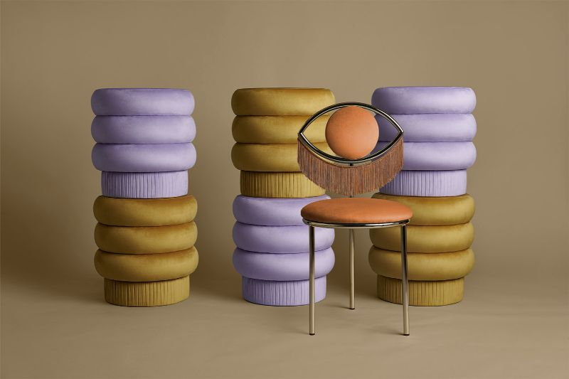 Masquespacio Brings Winking Dining Chair To Maison Et Objet 2020 (4) masquespacio A View For Sore Eyes – The New Masquespacio Dining Chair Masquespacio Brings Winking Dining Chair To Maison Et Objet 2020 4