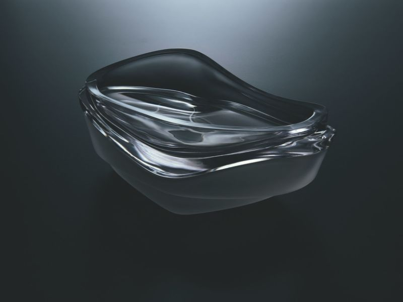 Zaha Hadid Design Unveils New Products At Maison Et Objet 2020 (3) zaha hadid The Pulse Glass Collection by Zaha Hadid Design Zaha Hadid Design Unveils New Products At Maison Et Objet 2020 3