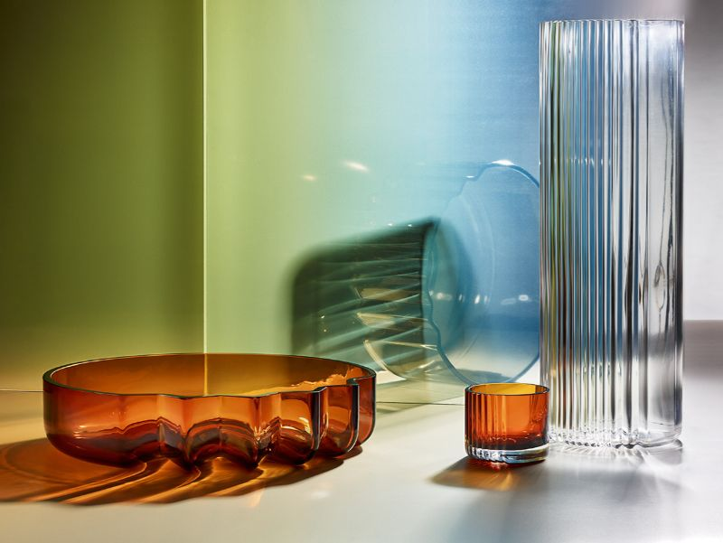 Zaha Hadid Design Unveils New Products At Maison Et Objet 2020 (5) zaha hadid The Pulse Glass Collection by Zaha Hadid Design Zaha Hadid Design Unveils New Products At Maison Et Objet 2020 5