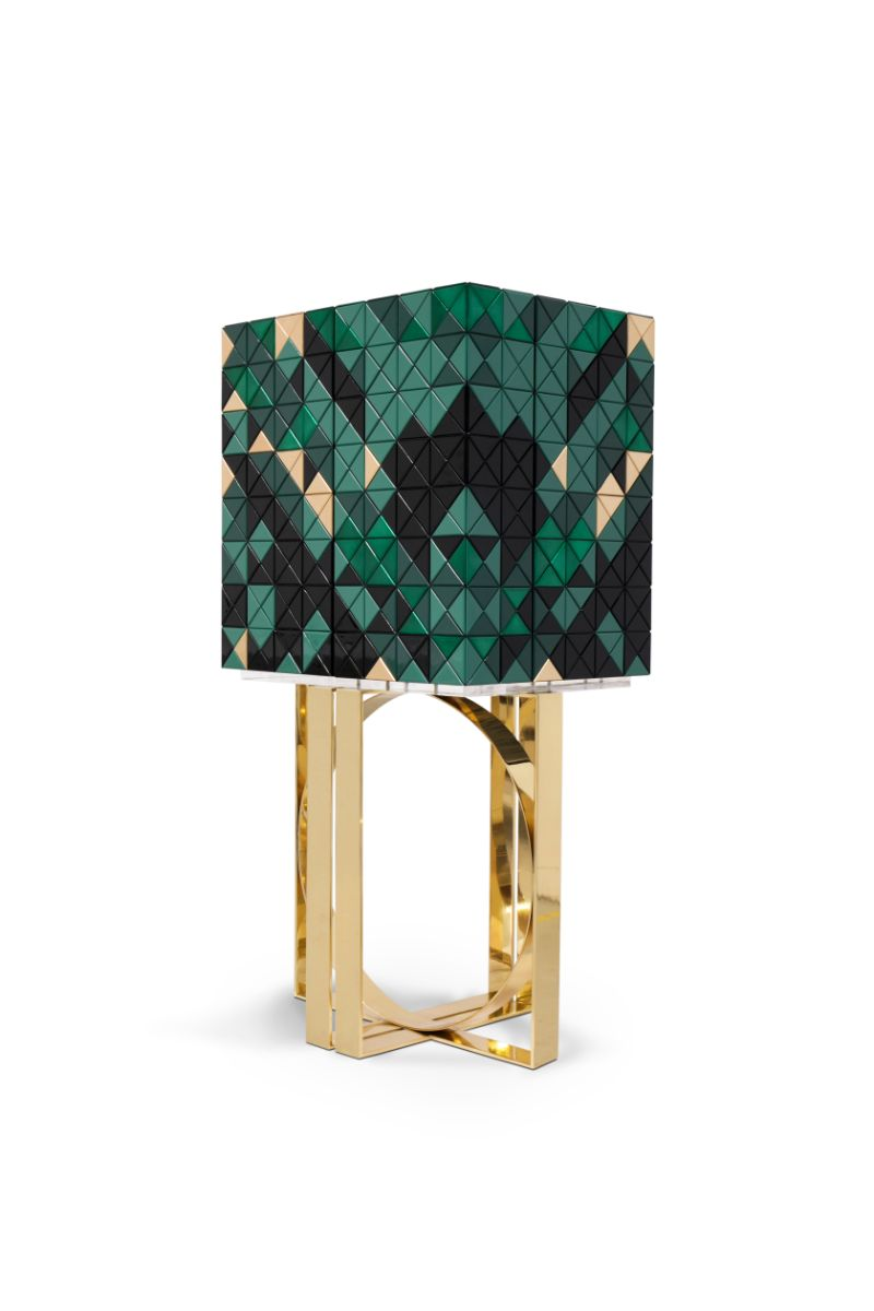modern cabinet Enchanted Forest Inspires The New Pixel Modern Cabinet pixel green 01