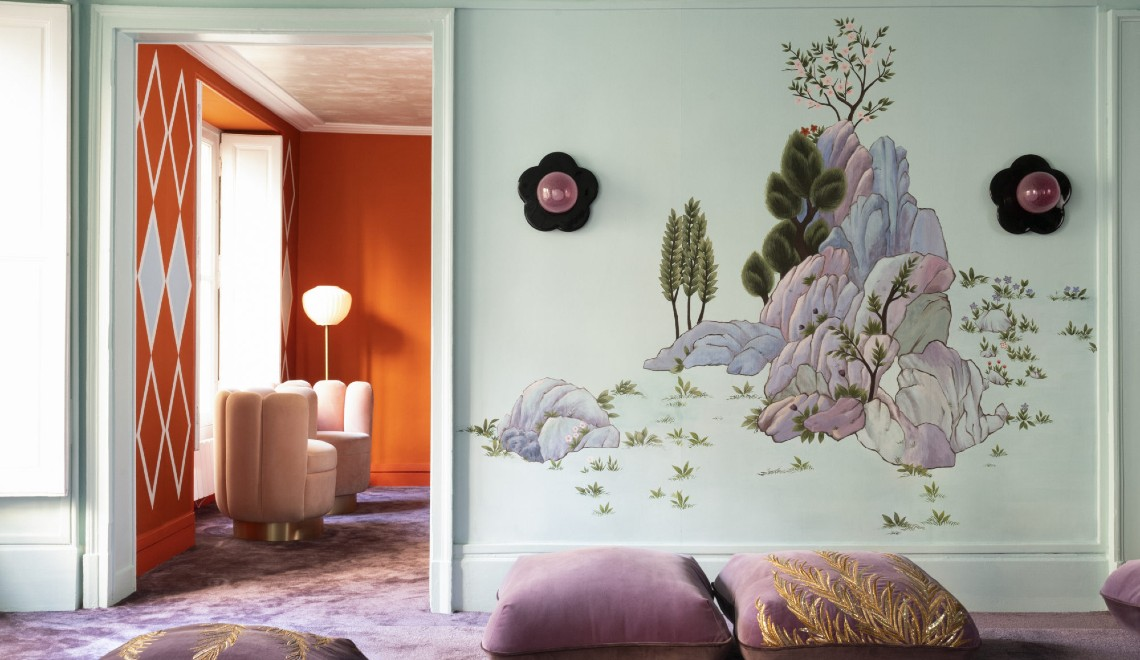 India Mahdavi and De Gournay Team Up For Contrasting Designs ft india mahdavi India Mahdavi and De Gournay Team Up For Contrasting Designs India Mahdavi and De Gournay Team Up For Contrasting Designs ft