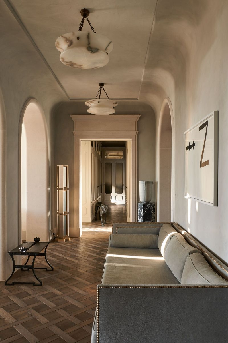Joseph Dirand Designs Calm And Subtle Paris Apartment (7) joseph dirand Joseph Dirand's Paris Apartment Doubles As A Marble Wonder Joseph Dirand Designs Calm And Subtle Paris Apartment 7