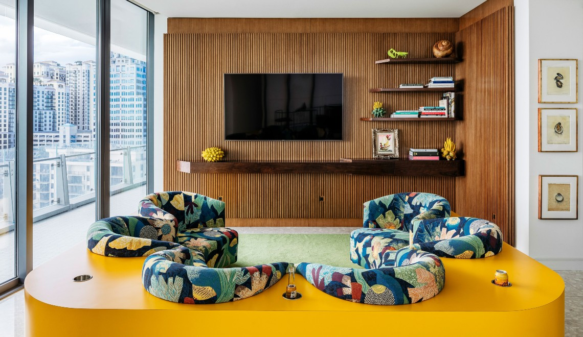 Modern Art Takes Centre Stage In This Harry Heissmann Luxury Home