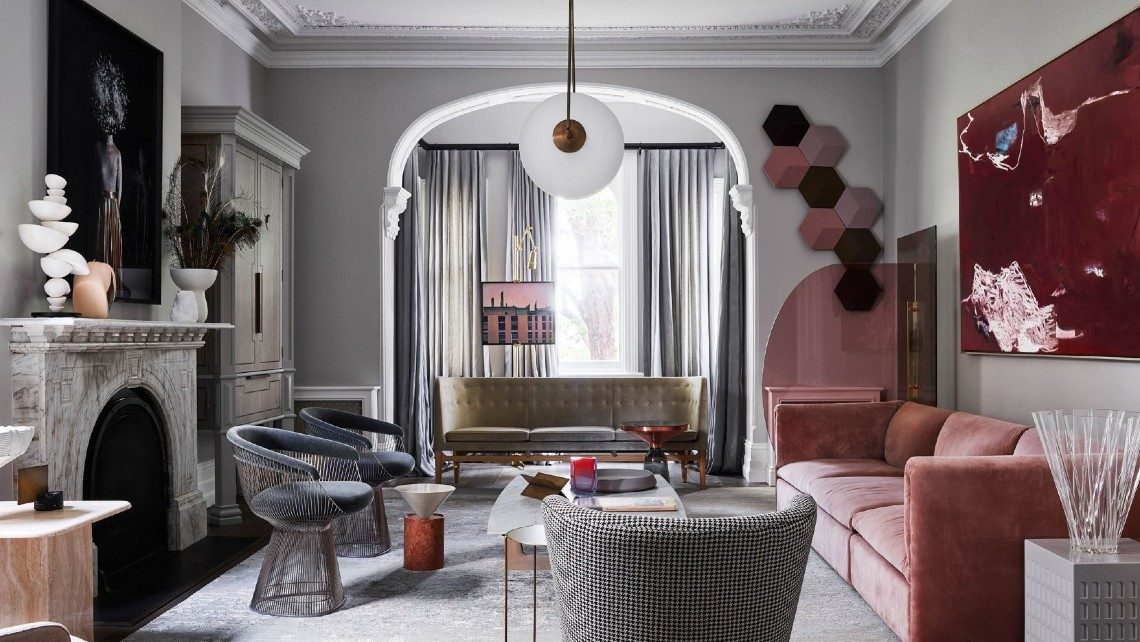 A Victorian-Era Mansion Is Tranformed Into An Art-Filled Luxury Home