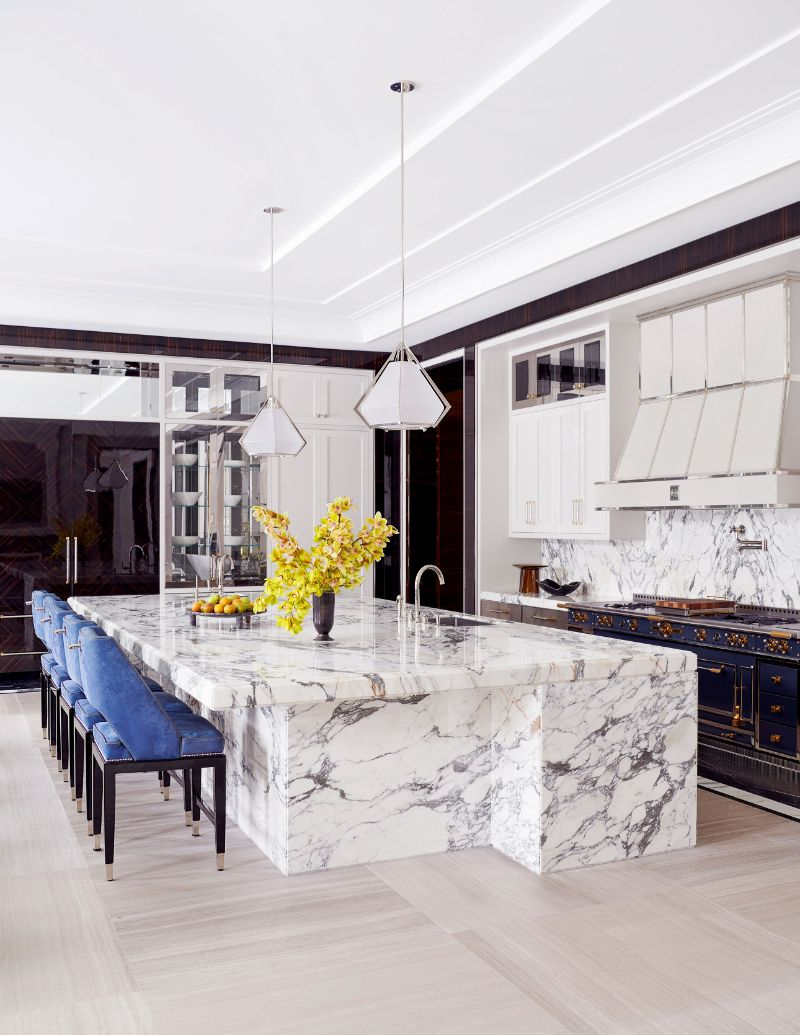 Unraveling Marble's Splendid Duality in Luxury Interiors luxury interiors Mesmerizing Luxury Interiors With Marble Design Inspirations Drakes Manor House An Astonishing Project by Ferris Rafauli 2